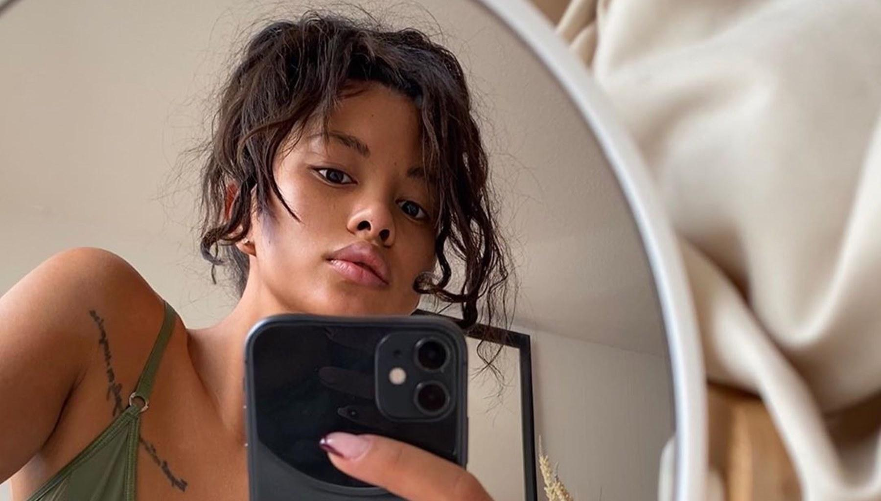 Chris Brown's Baby Mama, Ammika Harris, Hints That She And The 'Loyal' Singer Are Together Physically Again With These Photos As She Takes Measures To Protect Her Privacy