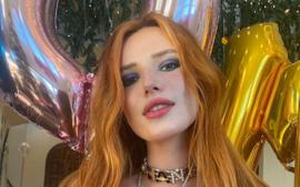 Bella Thorne Ditches Her Clothes In New Stunning Selfies As Her Movie Infamous Tops Box Office