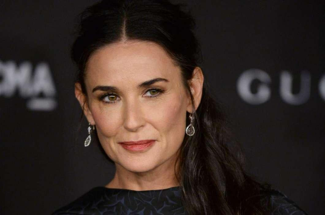 Demi Moore Celebrates Bruce Willis On Father's Day