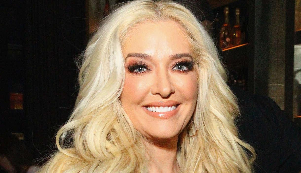 Erika Jayne Defends Post Of Her Son Who's A Police Officer
