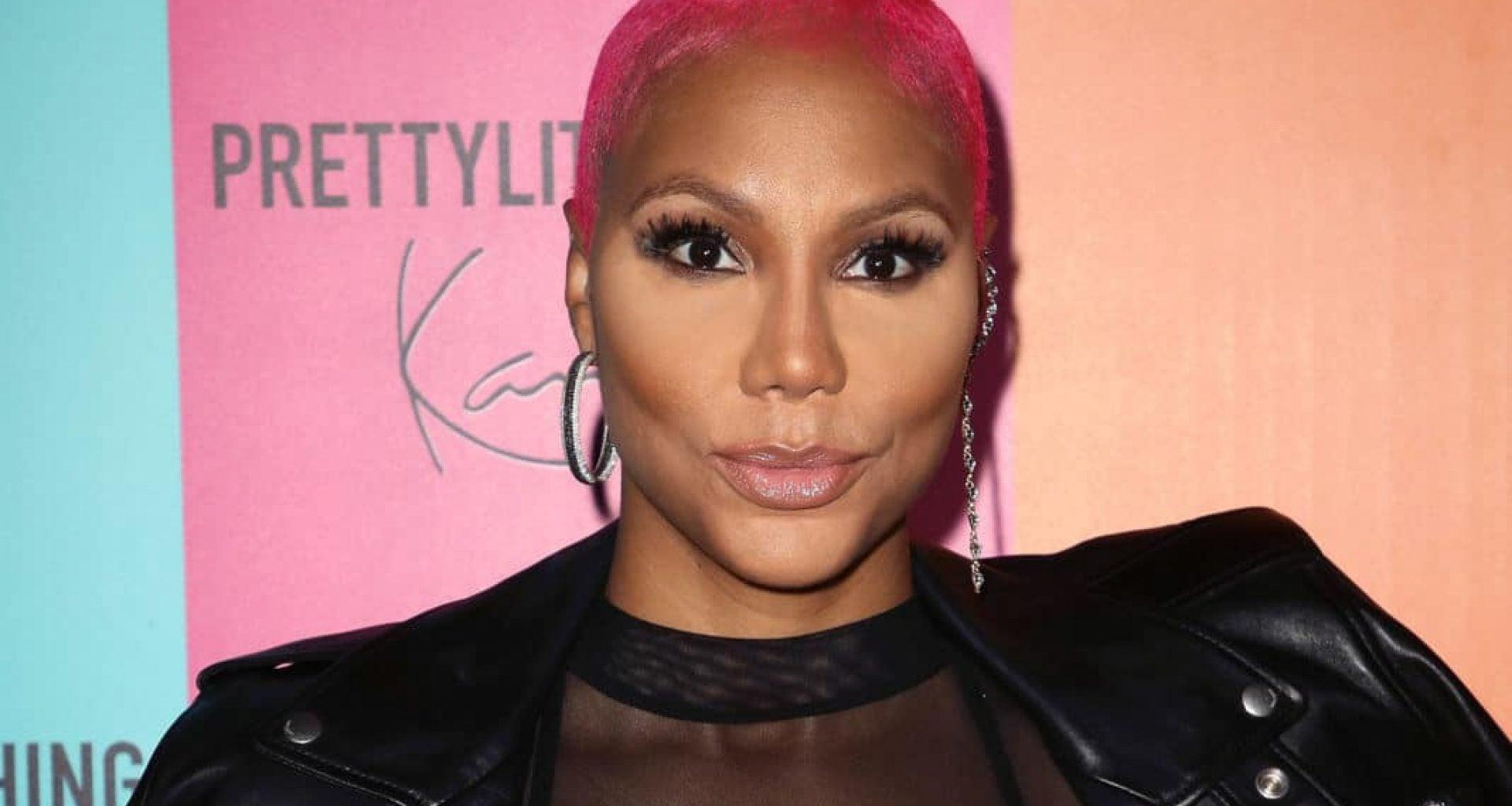 Tamar Braxton Shows Fans What's Wrong With America - Check Out Her Message