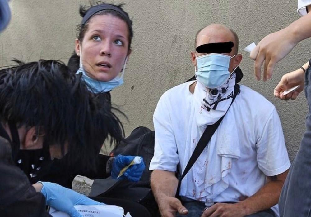 Halsey Gives Medical Attention To Protesters In California, Shares Pics Of The Police Brutality She's Witnessed During Riots