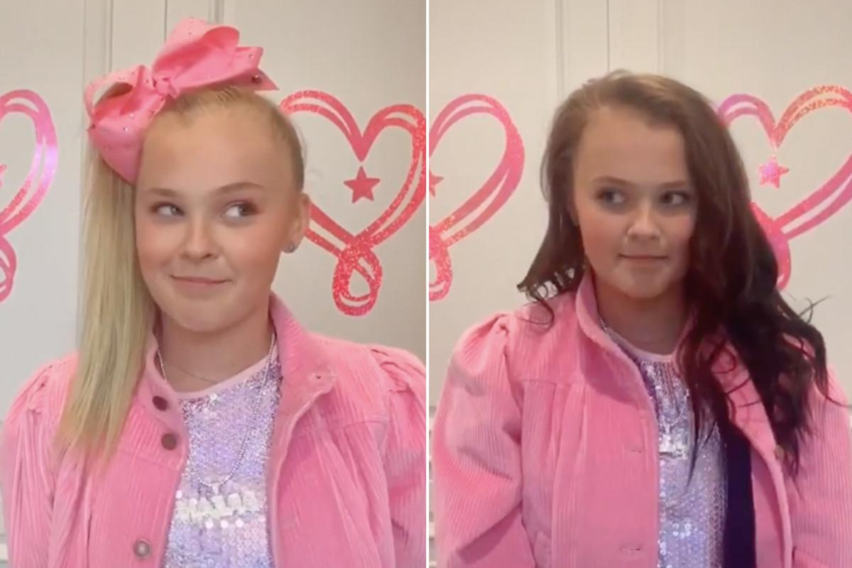 JoJo Siwa Back To Blonde After Only 2 Days Of Rocking Brunette Locks - Check Out The Fun Reveal!