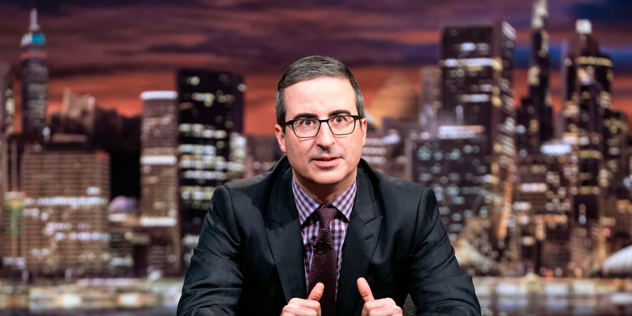 John Oliver In Tears While Calling Out Donald Trump And Discussing Police Brutality!