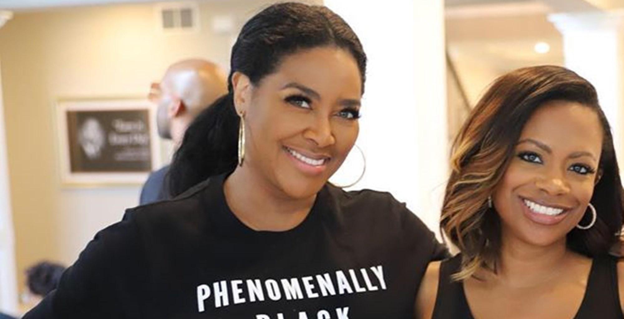 Kenya Moore Surprisingly Extends An Olive Branch To Estranged Husband Marc Daly -- 'Real Housewives Of Atlanta' Fans React