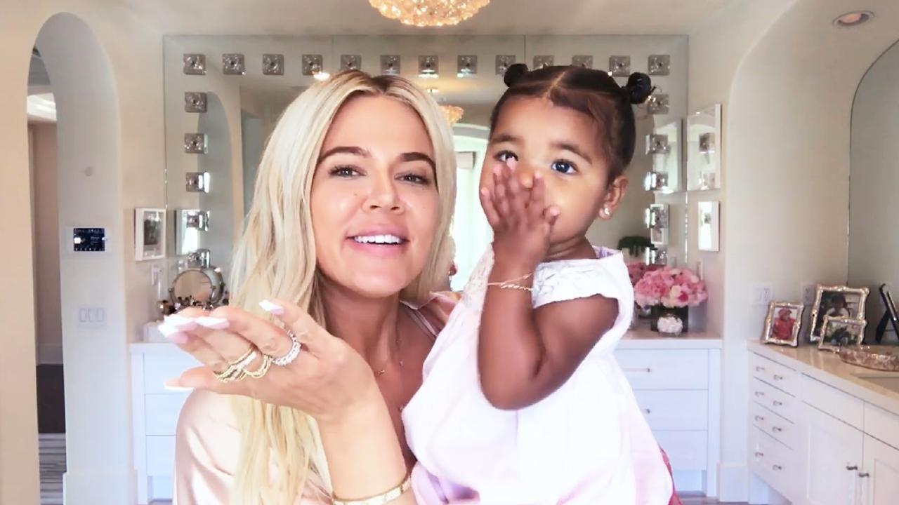 KUWK: Khloe Kardashian's Daughter Looks Super Tall Already In New Adorable Pics!