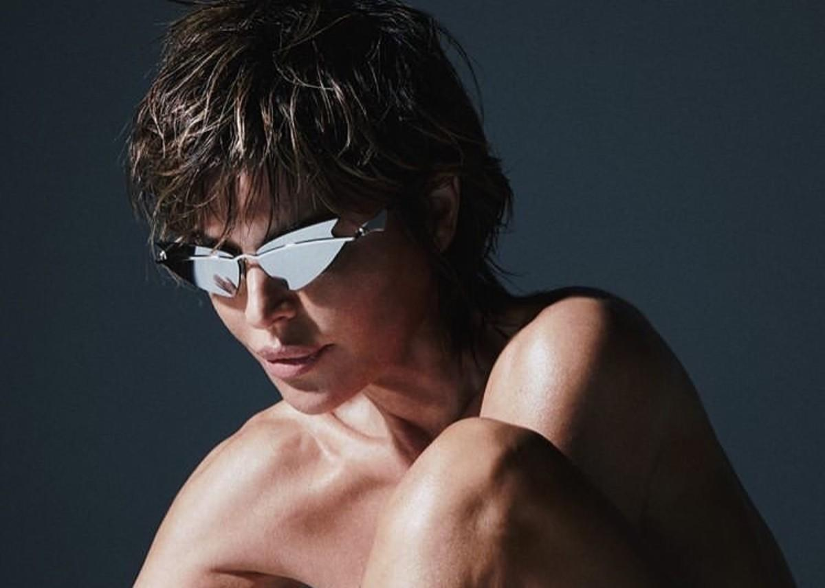 Lisa Rinna Drops Her Clothes And Shows Off Her Curves In Shocking New Photos For Christian Cowan X Le Specs