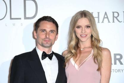 Matt Bellamy And His Wife Elle Evans Just Had Their First Child Together