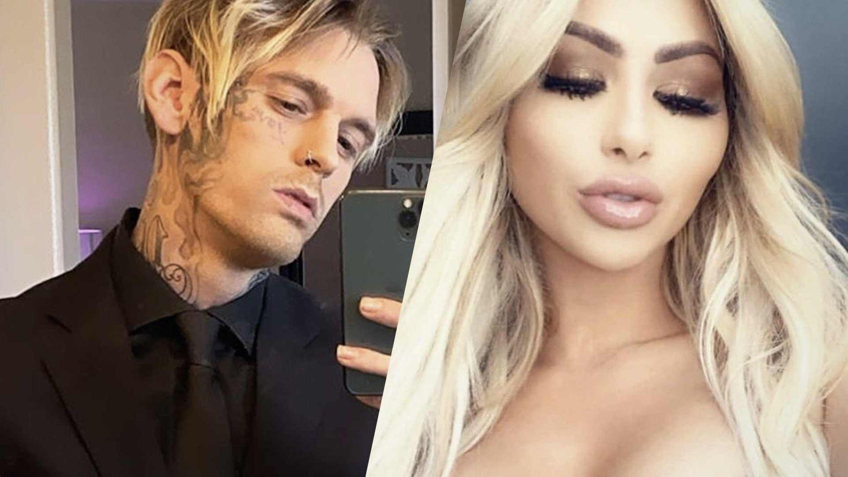 Aaron Carter And Melanie Martin Engaged - See The Ring!