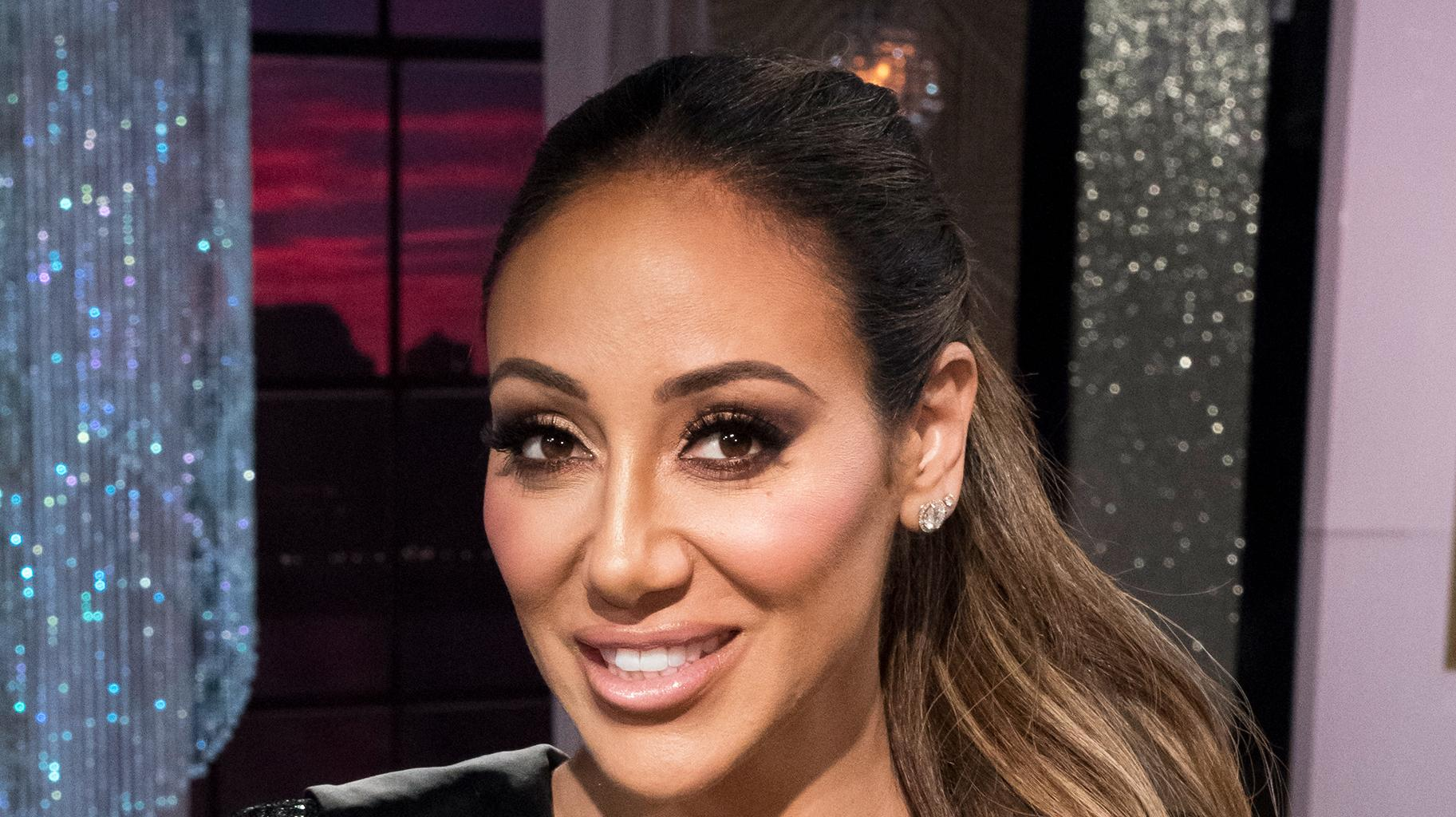 Melissa Gorga Looks Stunning In Bright Pink Dress - Check Out The Pic!