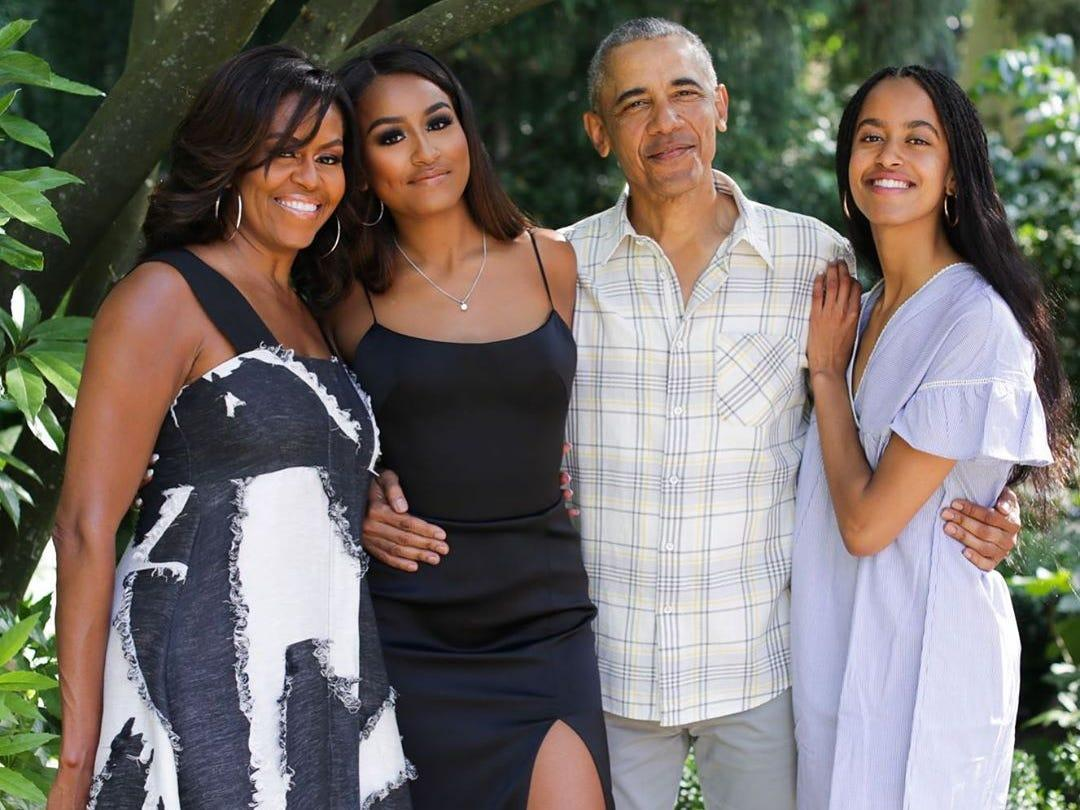 Michelle Obama Raves About Barack Obama And His Love For Daughters Malia And Sasha On Father's Day!