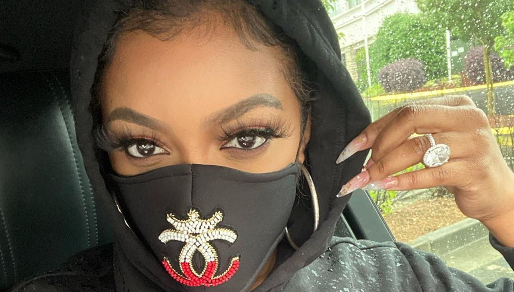Porsha Williams Makes This Confession After Being Tear-Gassed During George Floyd Protest By Atlanta Police Officers