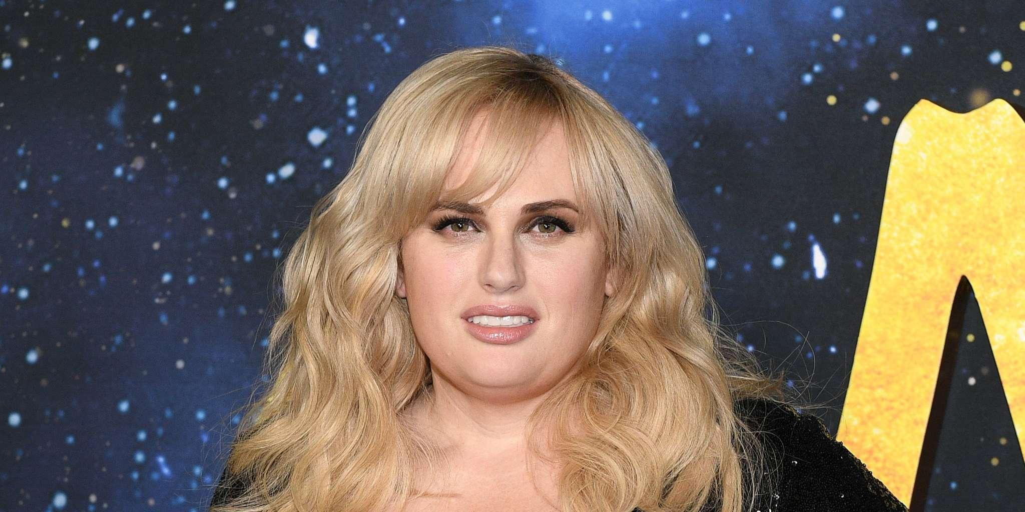 Rebel Wilson Looks Sultry And Fit In Elegant Blue Dress After Quarantine Weight Loss