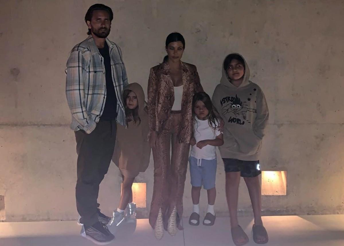 Kourtney Kardashian Praises Scott Disick On Father's Day With Family Photo As Many Think They Are Back Together