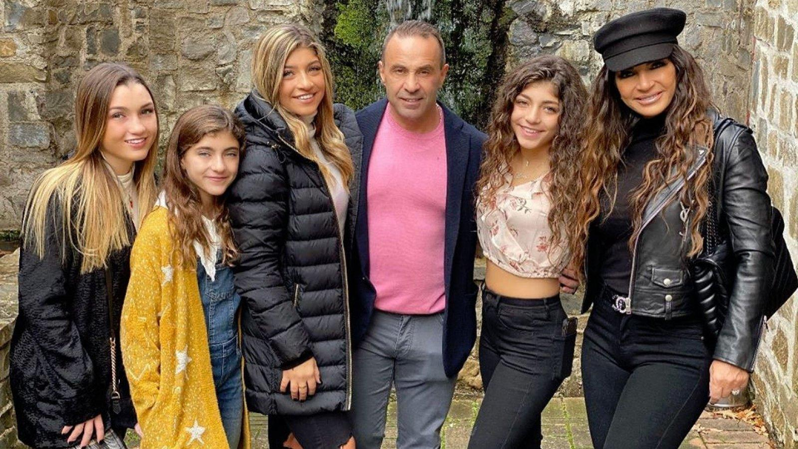 Teresa And Joe Giudice's Daughters Looking Forward To Visiting Their Father In Italy Later This Summer