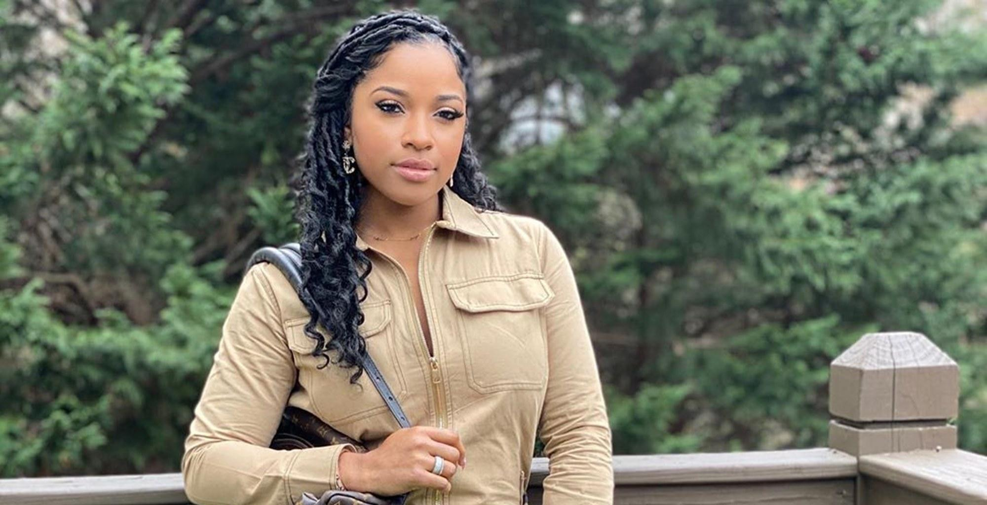 Toya Johnson Recalls How Fun It Was To Learn Colors With Reign Rushing