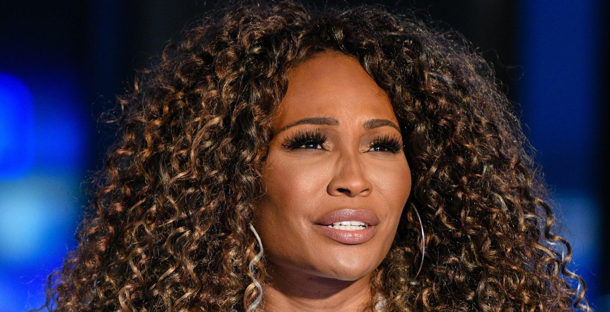Cynthia Bailey's Business Sponsored A Wine And Champagne Table During The Weekend