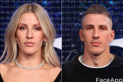 Ellie Goulding Is Breaking The Internet For Her Gender Swap Handsome Man Photo