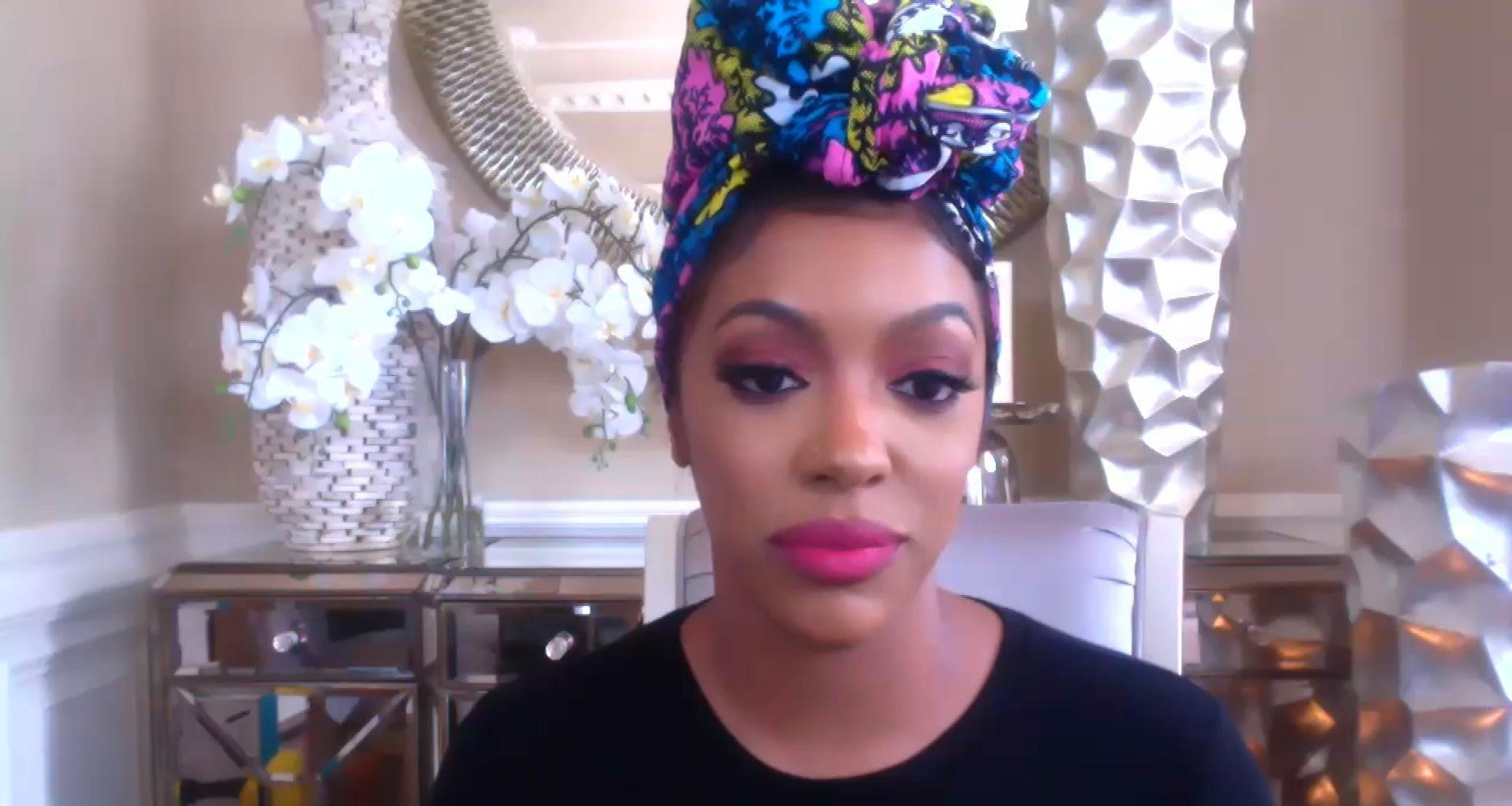 Porsha Williams Wants To Make Her Father And Grandfather Proud - Check Out Her Message