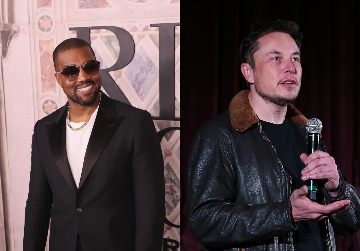 Kanye West Runs For US President And Elon Musk Backs Him
