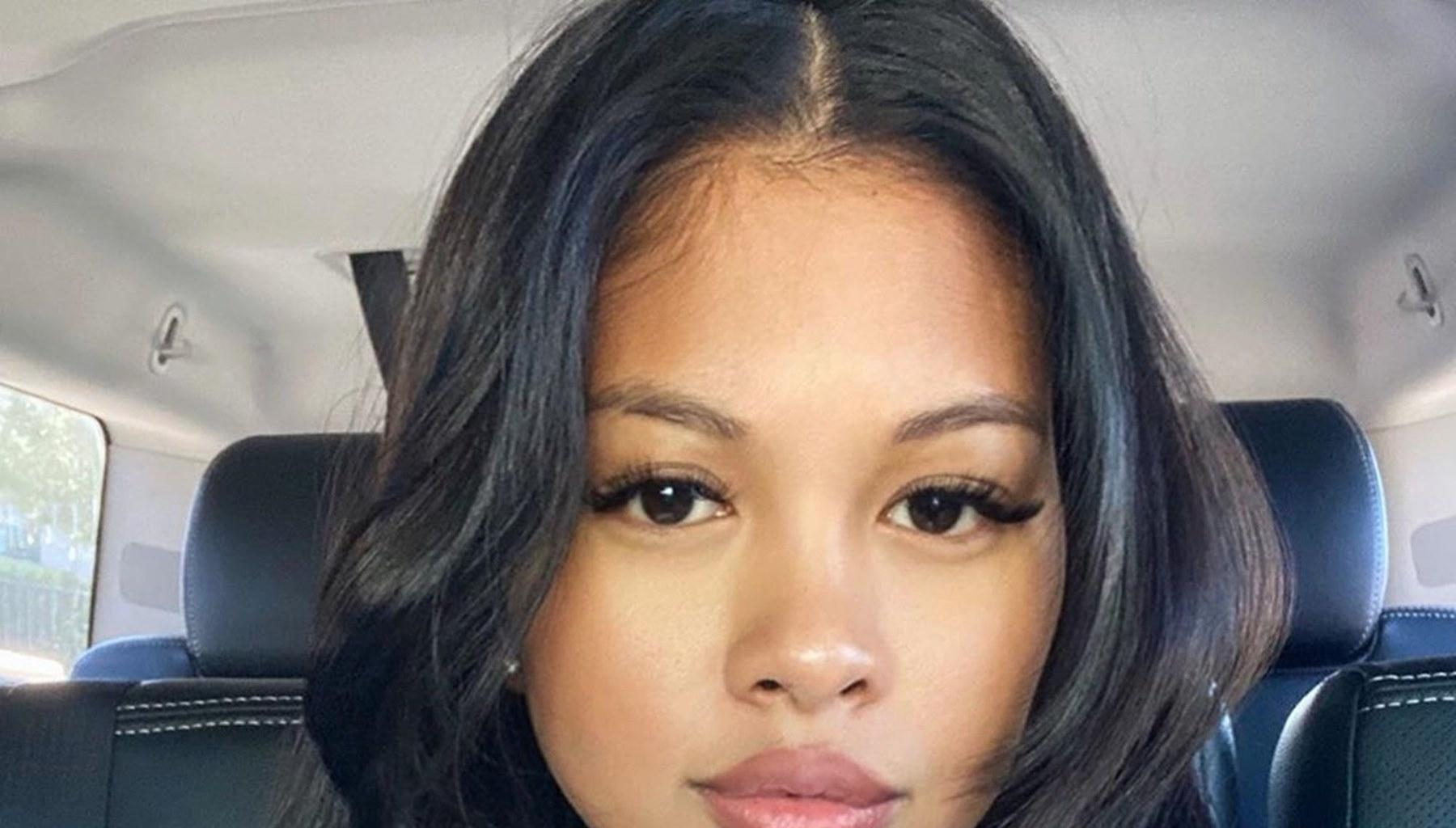 Chris Brown's Baby Mama, Ammika Harris, Debuts Her Stunning Friends In Playful Videos