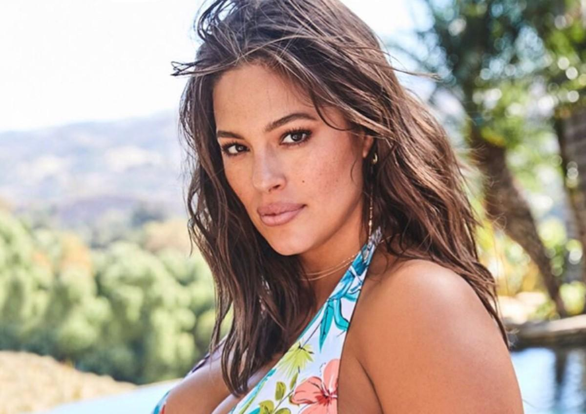 Ashley Graham Puts Her Curves On Display As She Dances In A Red Two-Piece Bathing Suit