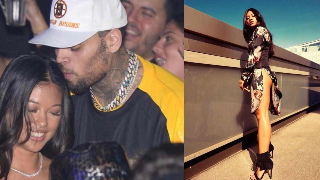 Chris Brown Calls Ammika Harris 'Mine' After She Drops This Gorgeous Photo And Fans Go Crazy With Excitement