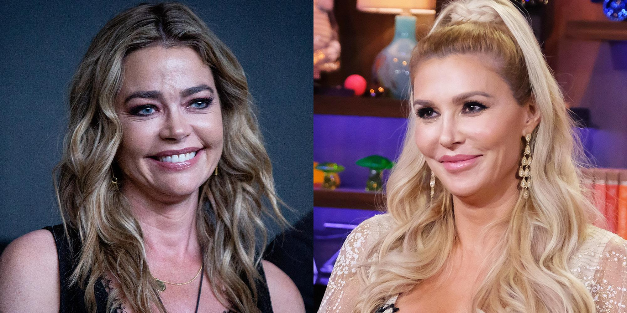 Denise Richards Addresses The Affair Rumors With Brandi Glanville After She Posts Kissing Pic!