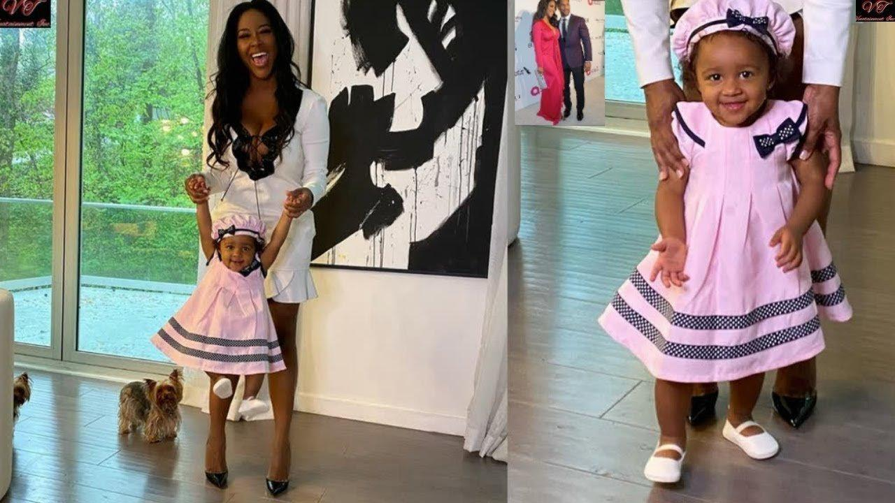 Kenya Moore's Miracle Baby Poses With A Pony And Fans Are In Awe!
