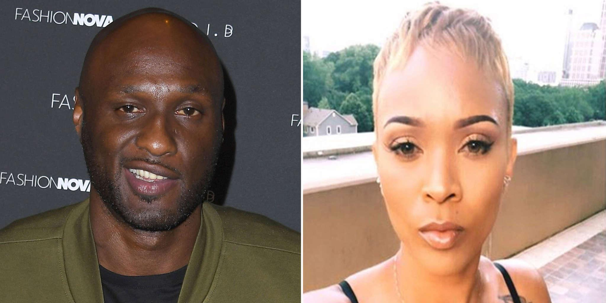 Lamar Odom Wears His Love For Sabrina Parr On His Skin -- Gets Mixed Reviews