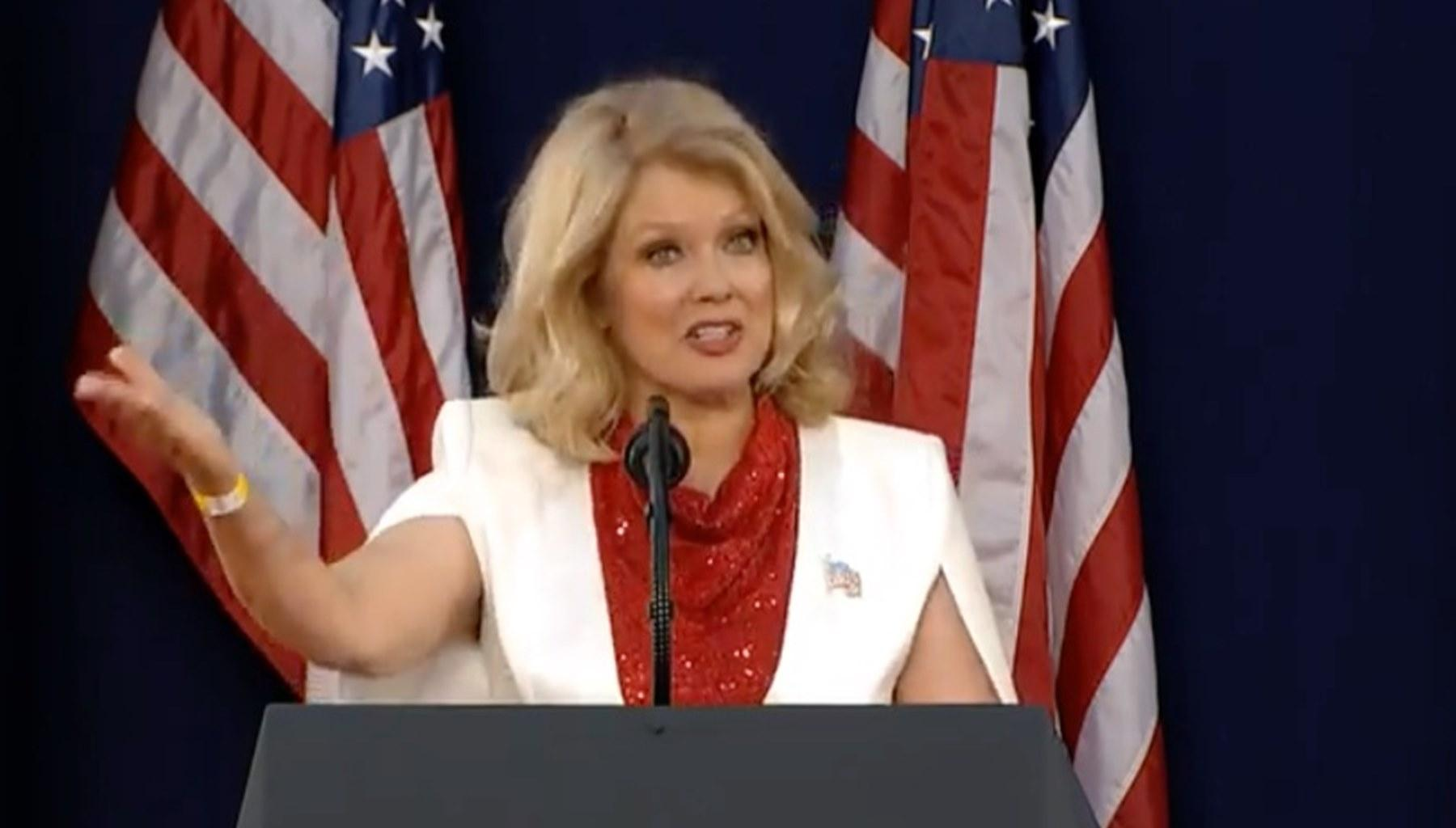 President Donald Trump's Mt. Rushmore Rally Brings Out Mary Hart As A MAGA Supporter While Don Jr.'s Girlfriend, Kimberly Guilfoyle, Tests Positive for COVID-19