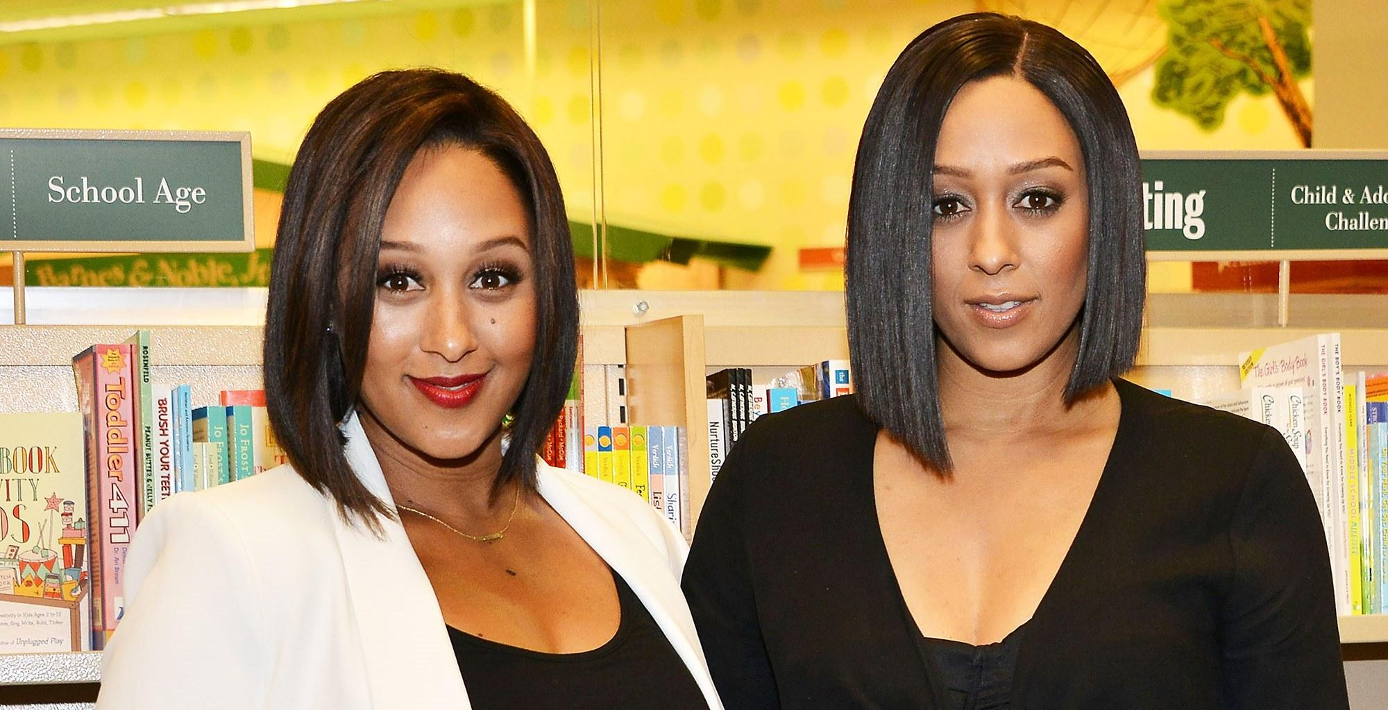 Tia  Mowry-Hardrict And Twin Sister Tamera Mowry-Housley Celebrate Beautiful Milestone With Never-Before-Seen Photos