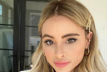 Amanda Stanton Is Summer Ready In Two Piece Bathing Suit And Zimmermann Skirt
