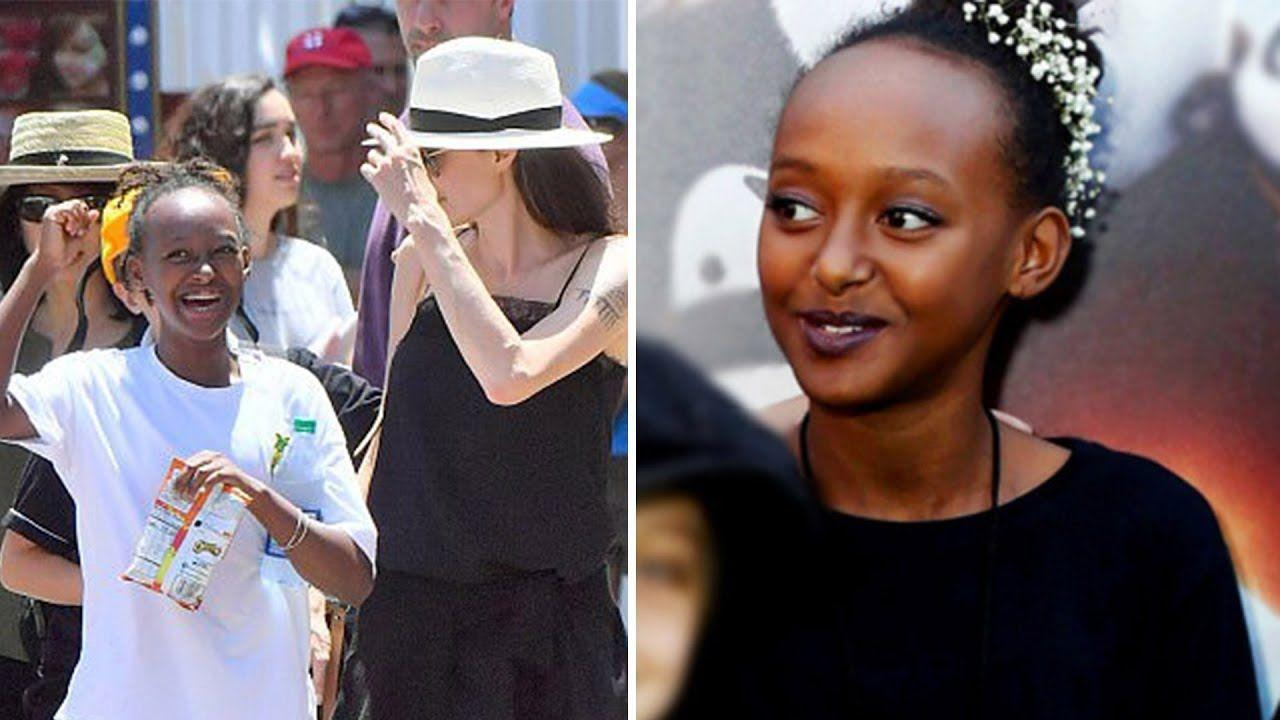 Angelina Jolie Raves About Teen Daughter Zahara - Says She Is An 'Extraordinary African Woman' And She's 'In Awe' Of Her!