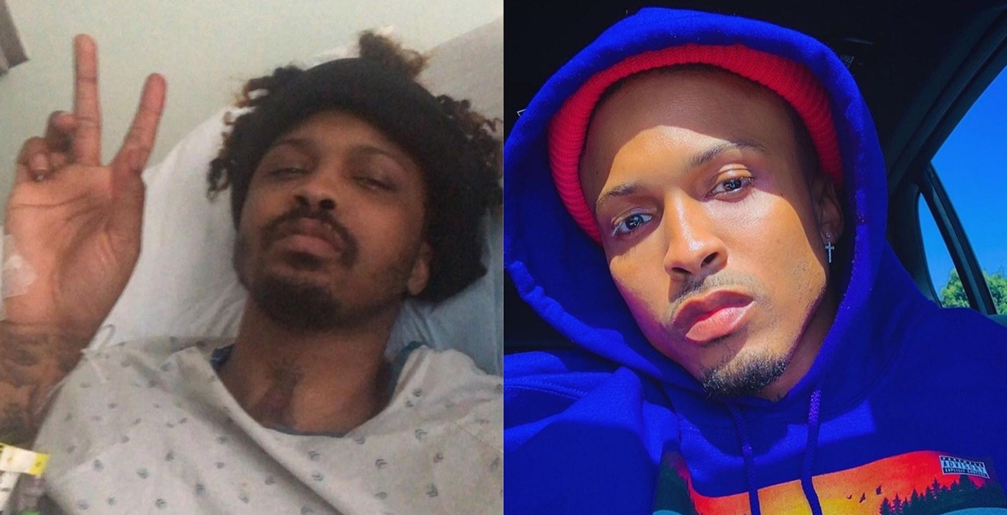 August Alsina Shares Photos After Overcoming A Challenging Year -- Some People Brought Up Jada Pinkett Smith In The Conversation For This Reason