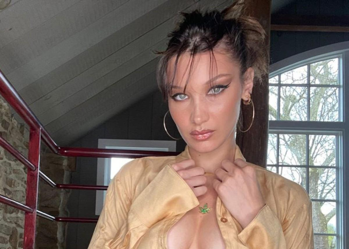 Bella Hadid Flaunts Her Abs As She Proves She's More Than A Pretty Face