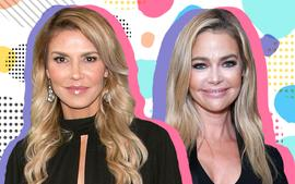 Denise Richards And Brandi Glanville - The Other 'RHOBH' Ladies Reportedly 'Trying To Stay Out Of' Their Affair Drama!