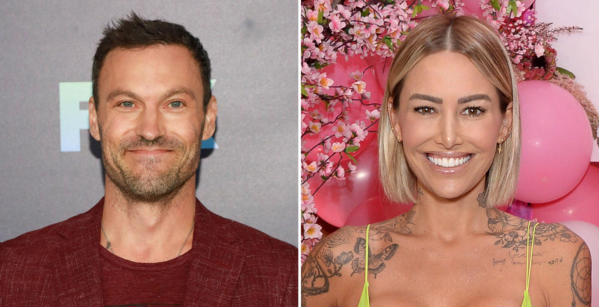 Brian Austin Green And Tina Louise Reunite A Week After Break Up Reports - Here's Why They're Still Together!