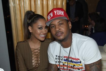 Carmelo Anthony Posts The Sweetest Tribute To La La On Their 10 Year Wedding Anniversary!
