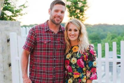 Carrie Underwood Celebrates 10th Anniversary With Mike Fisher In Sweet, Throwback Instagram Post