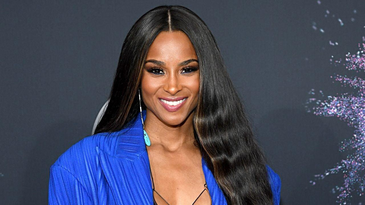 Ciara Posts Gorgeous Pic Of Her In The Pool Cradling Her Baby Bump!