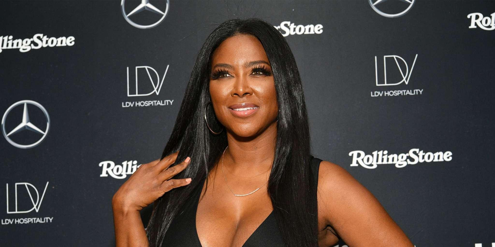 Kenya Moore Says She's Always On Top - Check Out Her Fabulous Photo That Has Fans Saying She's With Marc Daly