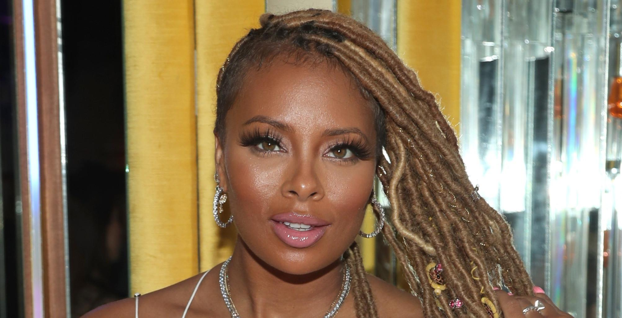 Eva Marcille Shows Off Her Gorgeous Lashes And Her Fans Are Here For The Look
