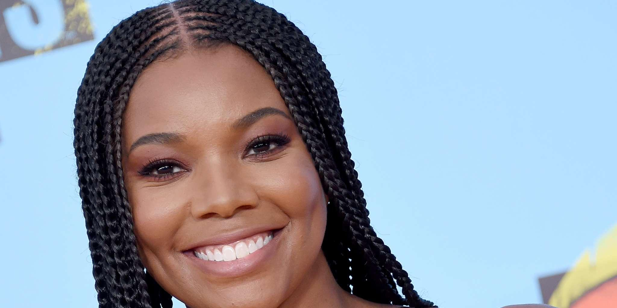 Gabrielle Union Shows Off Her Natural Hair And Fans Are Here For It