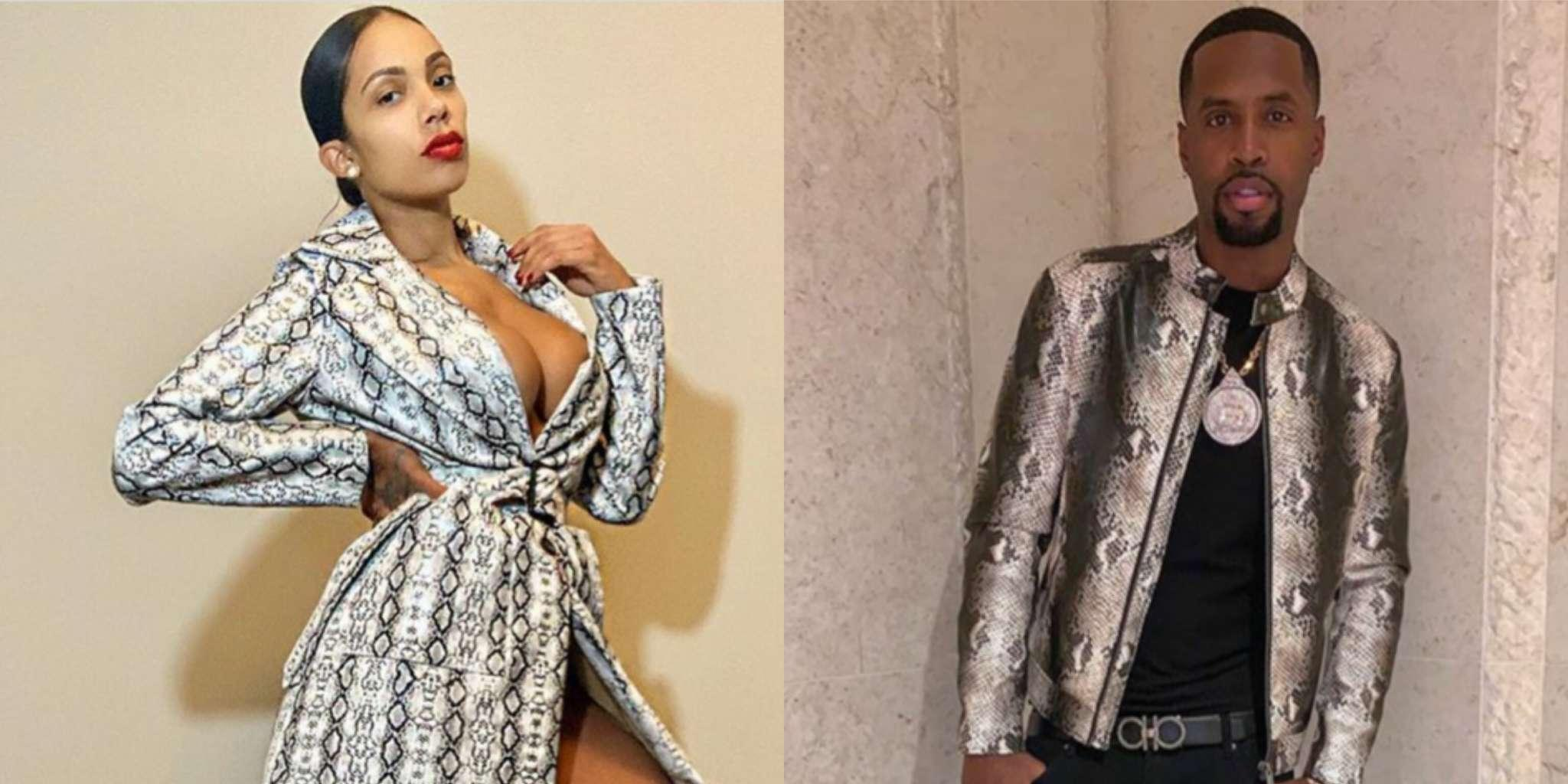 Erica Mena Shares Emotional Post With Throwback Videos With Safaree