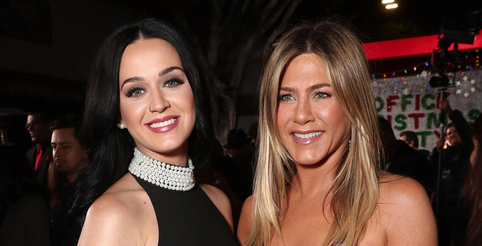 Katy Perry Addresses Those Rumors She Wants Friend Jennifer Aniston To Be Her Baby Girl's Godmother!