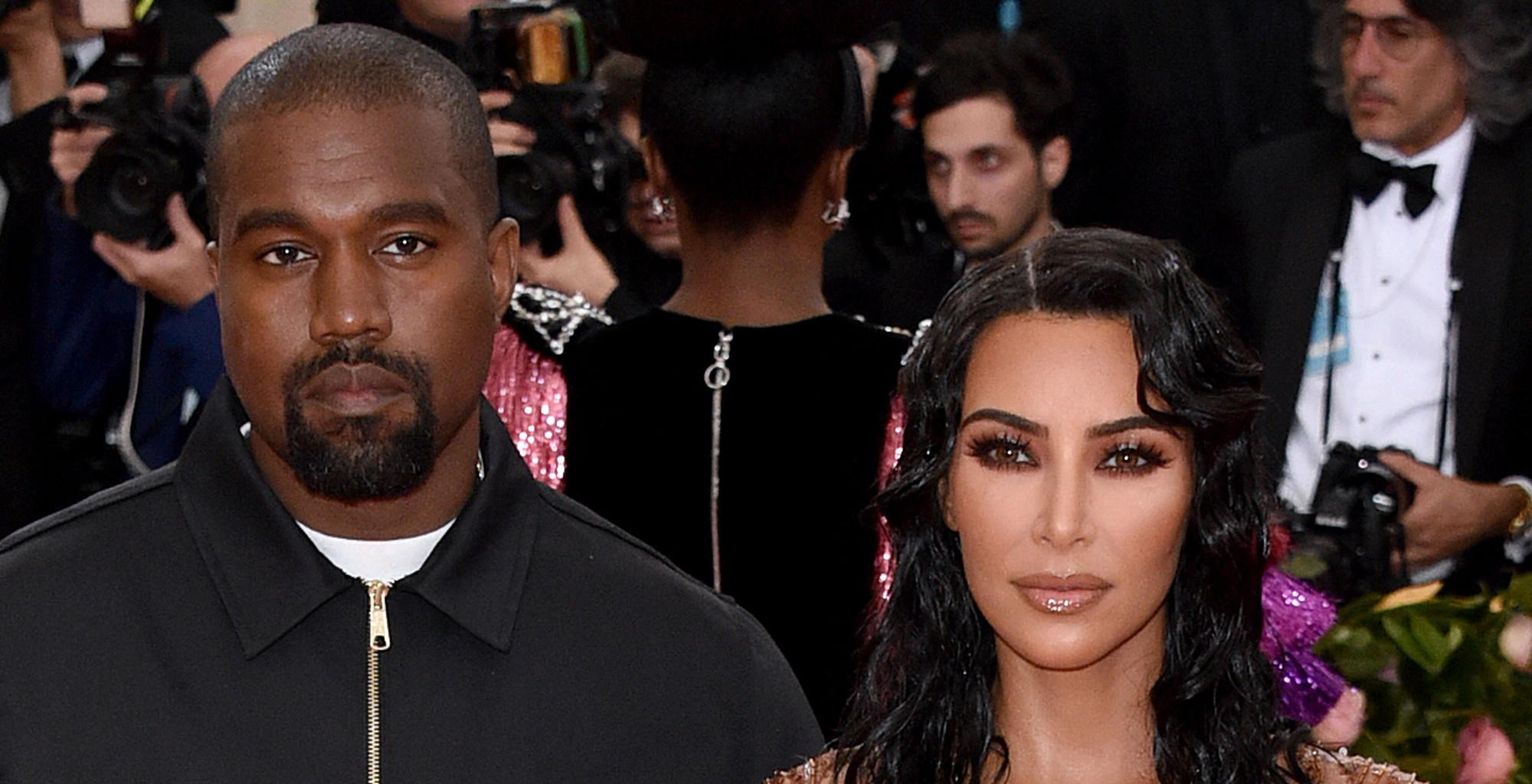 Kim Kardashian Reportedly Returns To LA Alone Following Her Meeting With Kanye West