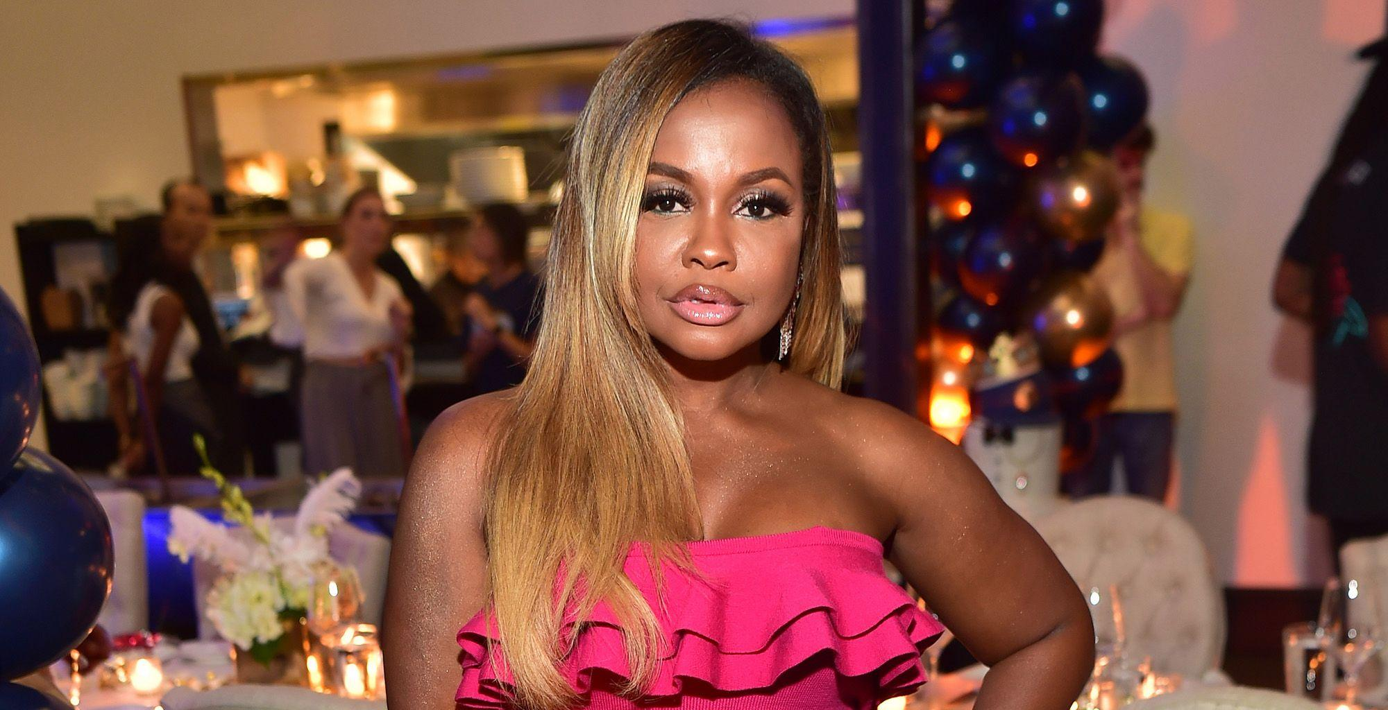Phaedra Parks' Latest Post Triggers A Debate In The Comments