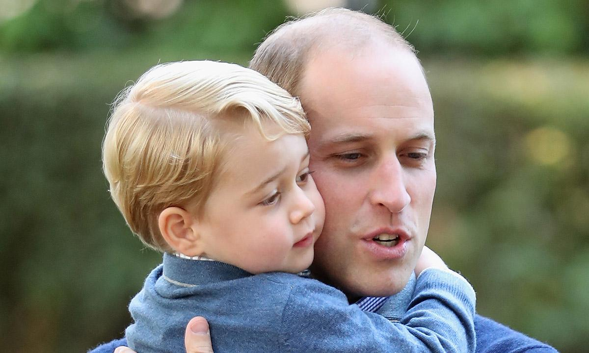 Prince George And His Dad Prince William Look Like Twins In Post On The Boy's 7th Birthday!