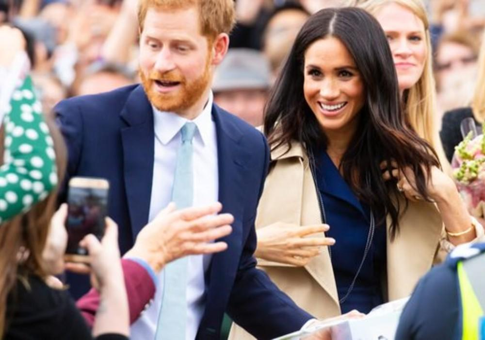 Prince Harry & Meghan Markle Spotted In Hats And Face Masks During Rare Beverly Hills Outing